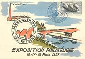 "57 Moselle CPSM FRANCE 57 ""Sarreguemines, Exposition philatélique 1957"""