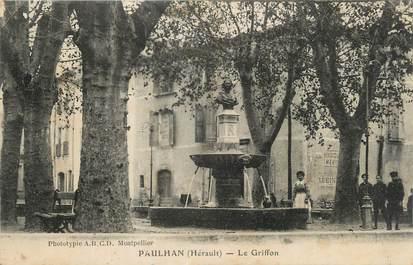 """.CPA  FRANCE 34 """"  Paulhan, Le griffon"""""""