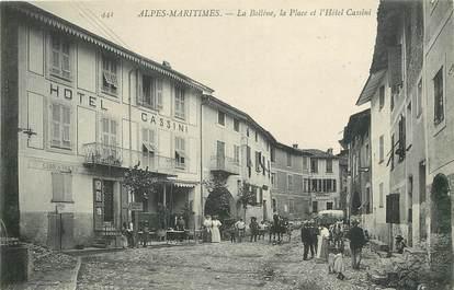 "CPA FRANCE 06 ""La Bollène, la place et l'Hotel Cassini"""