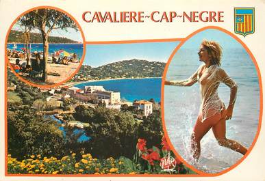 """CPSM FRANCE 83 """"Cavalière Cap Nègre"""""""