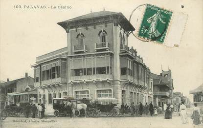 ".CPA  FRANCE 34 ""  Palavas les Flots,   Le casino  """