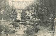 """34 Herault .CPA  FRANCE 34 """"  Pézenas,  Inondation du 26 septembre 1907, la brèche au Square Molière"""""""
