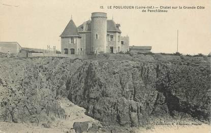 """CPA FRANCE 44 """" Le Pouliguen, chalet sur la Grande Côte de Penchâteau"""""""