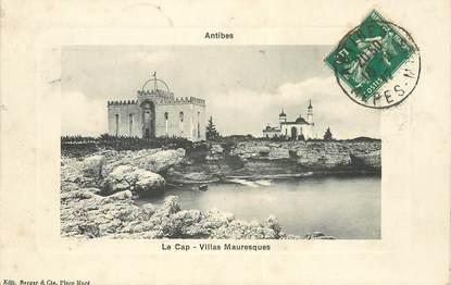 "CPA FRANCE 06 ""Antibes,  le Cap, villas mauresques"""