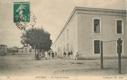 "CPA FRANCE  06 ""Antibes, la caserne Gazan"""