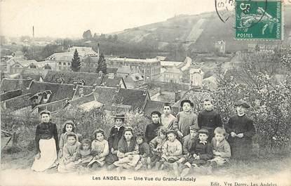 "CPA FRANCE 27 ""Les Andelys, une vue du Grand Andely"""