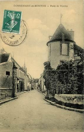 """CPA FRANCE 77  """"Donnemarie en Montois, Porte de Provins"""""""