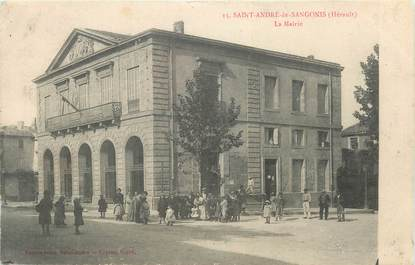 """. CPA FRANCE  34 """" St André  de Sangonis, La Mairie"""""""