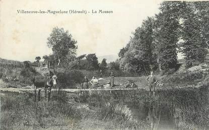 """. CPA FRANCE  34 """" Villeneuve les Maguelone, La Mosson"""""""