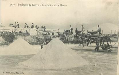 ". CPA FRANCE  34 "" Villeroy, Les salins"""