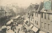 """35 Ille Et Vilaine . CPA FRANCE  35  """" Dol, Place du marché"""""""
