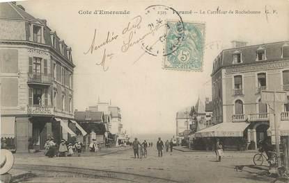 """. CPA FRANCE  35  """"Paramé, Carrefour de Rochebonne"""""""