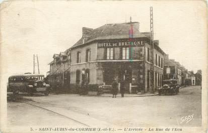 """. CPA FRANCE  35 """"St Aubin du Cormier, Rue de l'Eau"""""""