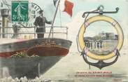 """35 Ille Et Vilaine . CPA FRANCE  35 """"St  Malo, Vue"""""""
