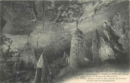 """CPA FRANCE 26 """"Pont en Royans, la grotte et Rivière de Bournillon"""""""