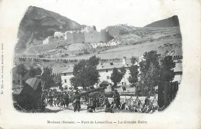 """. CPA FRANCE  73 """"Modane, Fort de Lesseillon"""""""