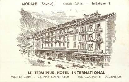 """. CPA FRANCE  73 """"Modane, Hôtel Le Terminus"""""""