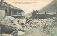 """73 Savoie . CPA FRANCE  73 """"Fourneaux, Catastrophe du 23 juillet 1906"""""""