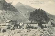 """73 Savoie . CPA FRANCE  73 """" Modane - Fourneaux,  Le village enlisé après la catastrophe du 23 juillet 1906"""""""