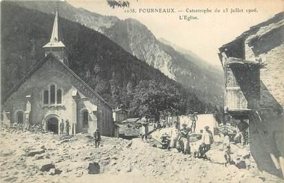 """. CPA FRANCE  73 """" Fourneaux,  Catastrophe  du 23 juillet 1906"""""""