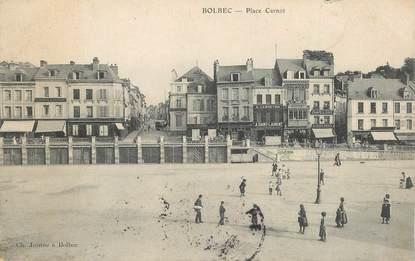 "CPA FRANCE 76 ""Bolbec, la place Carnot"""