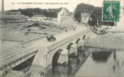 """CPA FRANCE 44 """"Le Pouliguen, vue perspective du pont"""""""