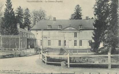 "CPA FRANCE 02 ""Villers, le chateau"""