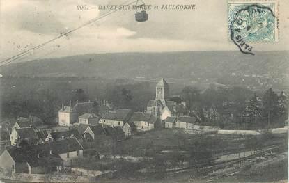 """CPA FRANCE 02 """"Barzy sur Marne et Jaulgonne"""""""