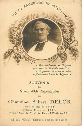 "CPA FRANCE 06 ""Menton, Chanoine Albert Delor"""