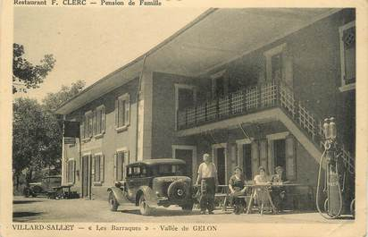 ". CPA   FRANCE  73 ""Villard Sallet, Les barraques, Pension de famille"""