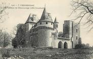 """46 Lot CPA FRANCE 46 """"Cressensac, chateau de Chaussenège"""""""