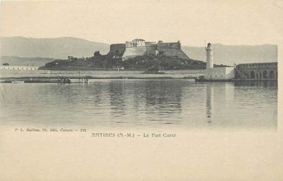 """.CPA FRANCE 06  """"Antibes, Le Fort Carré """""""
