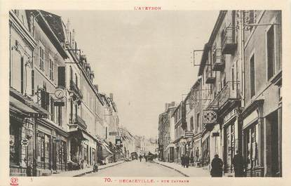 ".CPA FRANCE 12 ""Décazeville, Rue Cayrade"""