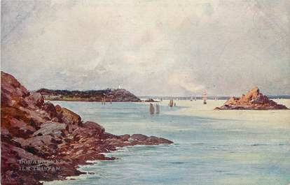 "CPA FRANCE 29 ""Douarnenez, Ile Tristan, les sites de France par Bourgeois"""