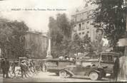 """12 Aveyron .CPA  FRANCE 12 """"Millau, Arrivée des Touristes, Place du Mandarous"""""""