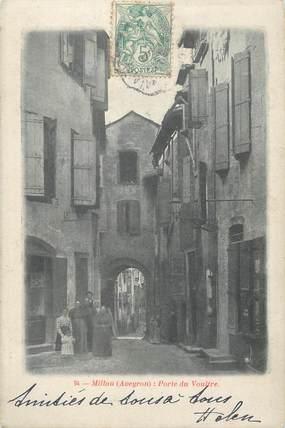 """.CPA  FRANCE 12 """"Millau, Porte du voultre"""""""