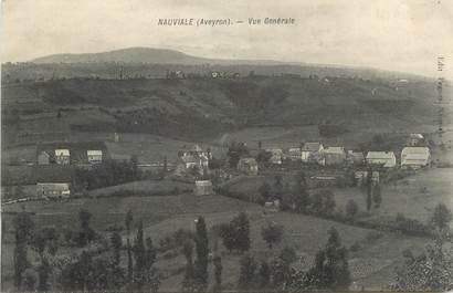 ".CPA  FRANCE 12 ""Nauviale, Vue générale"""