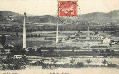 "CPA FRANCE 43 ""Langeac, l'Usine"""