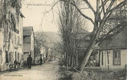 ".CPA  FRANCE  12 "" Pont  les Bains  """