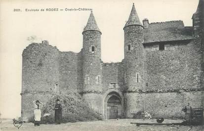 """.CPA  FRANCE  12 """" Onet le Château environs de Rodez"""""""