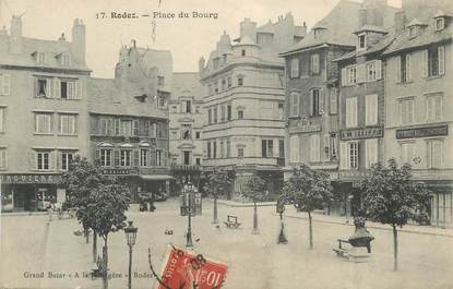 ".CPA FRANCE 12 ""  Rodez, Place du bourg"""