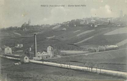 ".CPA FRANCE 12 ""  Rodez, Usine St Félix"""