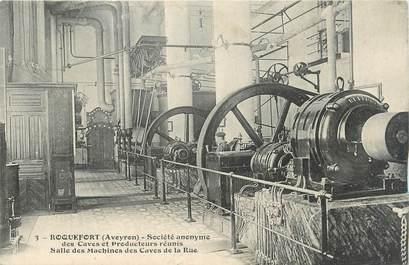 """.CPA FRANCE 12 """"  Roquefort, SA des Caves et Producteurs réunis, salle des Machines"""""""