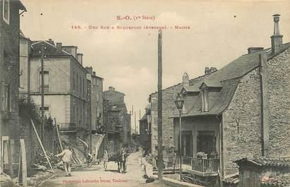 ".CPA FRANCE 12 ""  Roquefort, Une rue"""