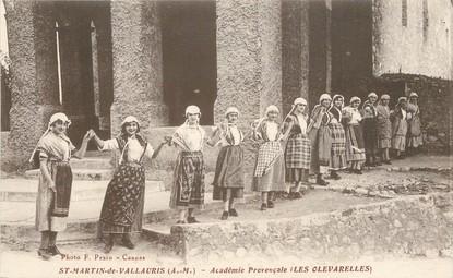 """CPA FRANCE 06 """"Saint Martin de Vallauris, académie provençale, les Olevarelles"""""""