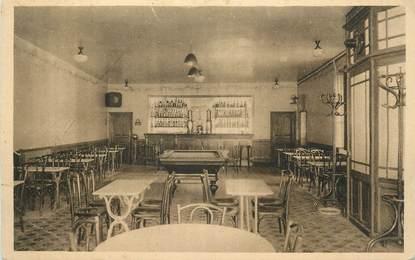 """.CPA FRANCE 12 """"  Roquefort, Hôtel du Commerce, salle du café"""""""