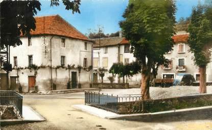 """.CPSM  FRANCE 12 """"  La Selve, Place du Bouyssou"""""""