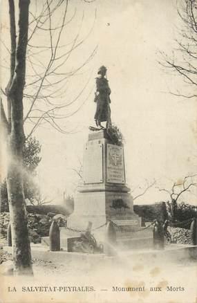 """.CPA  FRANCE 12 """"  La Salvetat-Peyrales, Monument aux morts"""""""