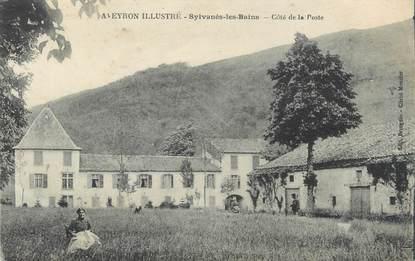 """.CPA FRANCE 12 """"  Sylvanès les Bains, Côté de la Poste"""""""