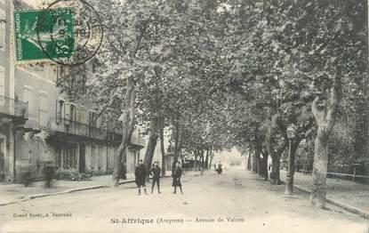 """.CPA FRANCE 12 """"  St Affrique, Avenue de Vabres"""""""
